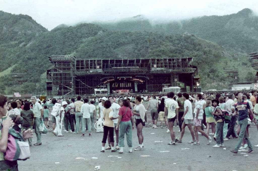 en Rock In Rio gente de todo el mundo (1985)