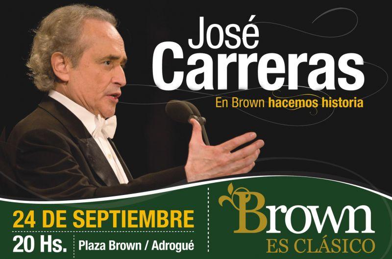 José Carreras en Adrogüe