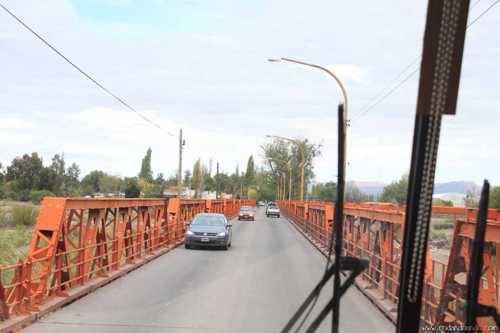 Puentes sobre el Río Diamante