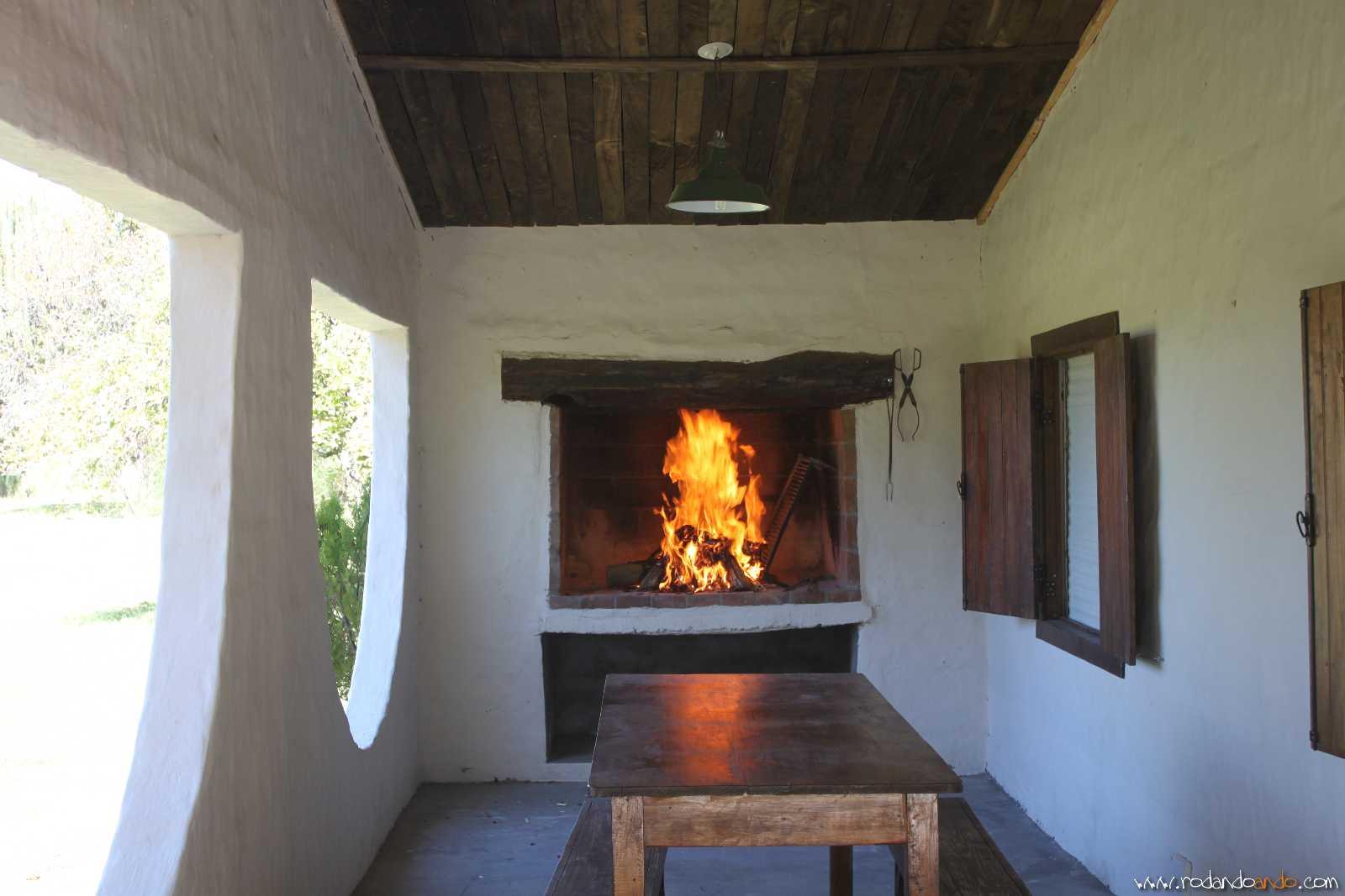 Preparando el Fuego para el asado