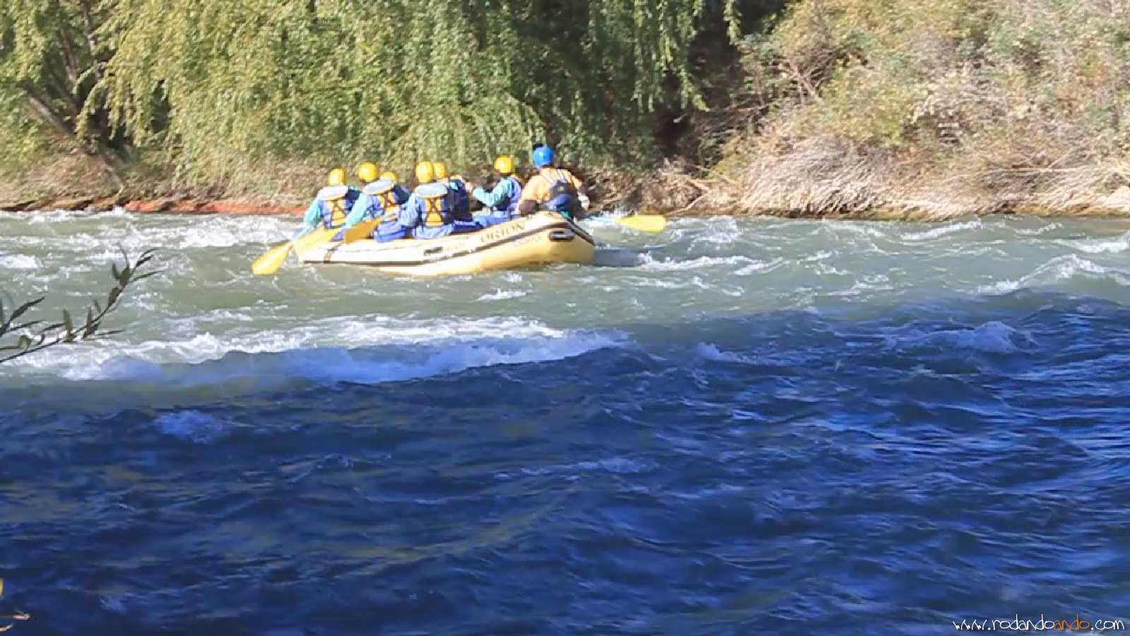 Rafting, una experiencia fantastica: una menos por cumplir
