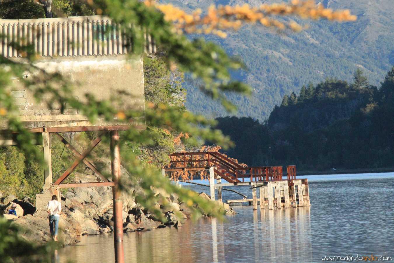 La belleza del Lago Nahuel Huapi