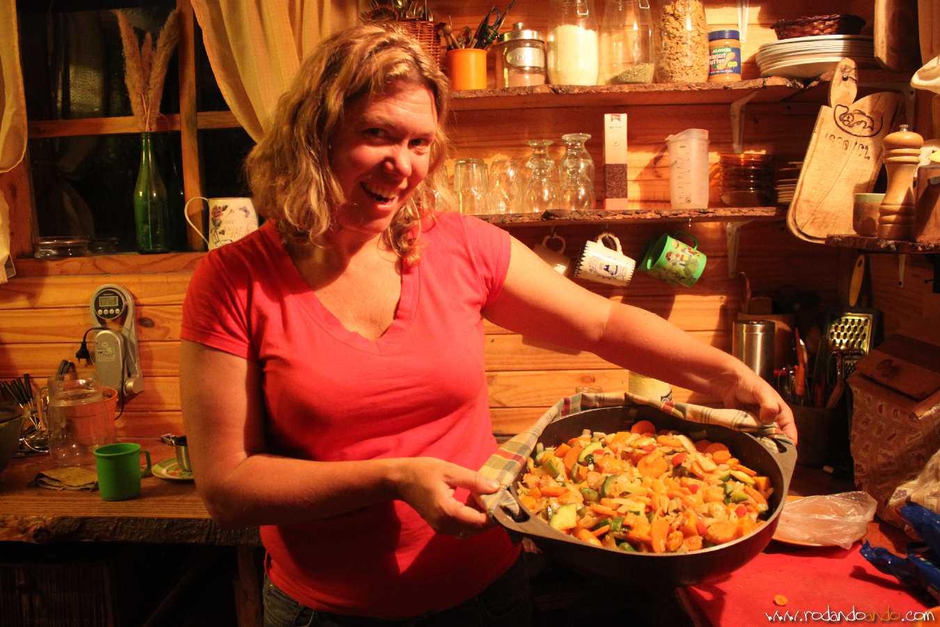 Verduras cocinadas por Gwen