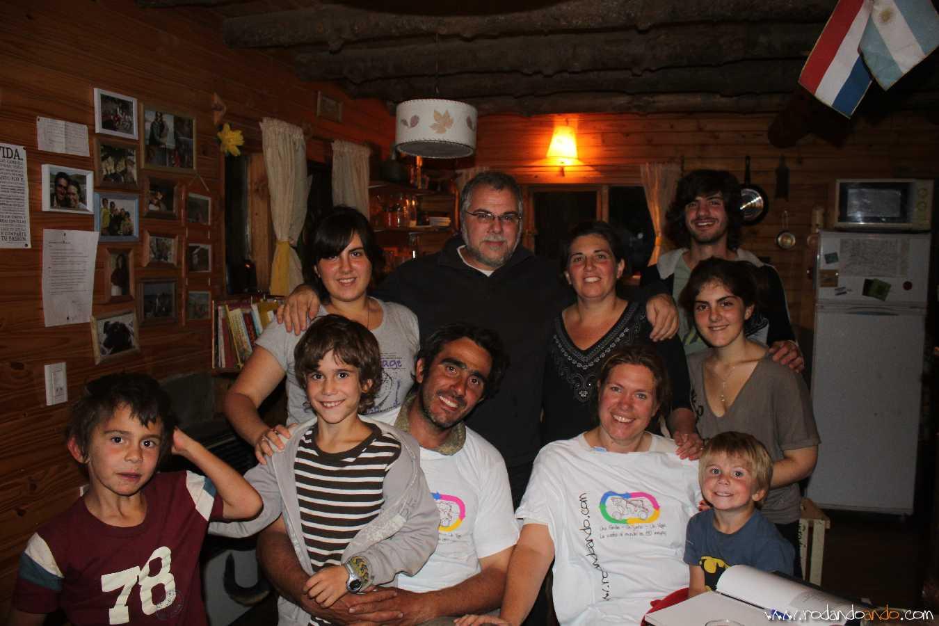 De Izquierda a Derecha Pedro, Valentin, Nico, Gwen y Bautista.